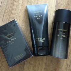 ALPHA AVON + GEL DUS SI DEODORANT CADOU - Set parfum
