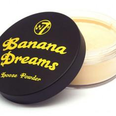 W7 Banana Dreams Loose Powder 20 gr - Tus ochi