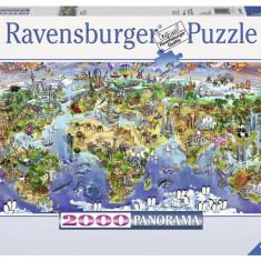 Puzzle Ravensburger Minunile Lumii, 2000 Piese