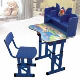 Set birou copii cu scaunel pentru baieti