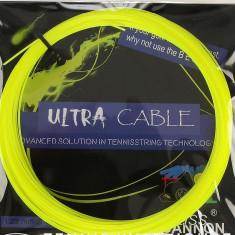 Racordaj Weiss CANNON Ultra Cable 1.23 - Racordaj racheta tenis