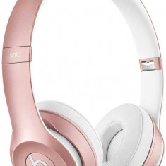 Casti wireless Beats Solo2 On Ear Rose Gold Monster Beats by Dr. Dre, Casti On Ear, Bluetooth, Active Noise Cancelling