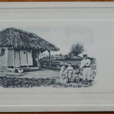 Bordei taranesc, Basarabia, inceput de secol 20, necirculata