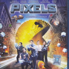 Film Blu Ray : Pixels ( original - subtitrare in lb.romana )