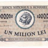 Bancnota 1.000.000 lei 1947 VF+ - Bancnota romaneasca
