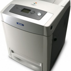 Imprimanta EPSON AcuLaser C3800DN, 25 PPM, Duplex, Retea, USB, 1200 x 1200 DPI, Color A4 - Imprimanta laser color