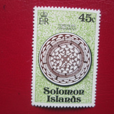 TIMBRE ANGLIA/COLONII  SOLOMON ISLANDS