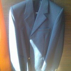 Costum haine barbat marimea 46 nou - Costum barbati, Culoare: Din imagine, 3 nasturi, Normal, Lana