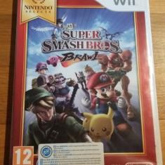 Wii Super smash bros. Brawl Selects - joc original PAL by WADDER - Jocuri WII Altele, Sporturi, 3+, Multiplayer