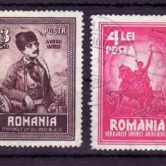 Romania 1929, LP 82, 10 ani de la unirea Transilvaniei, serie stampilata - Timbre Romania