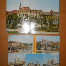 CP - TIMISOARA + ORADEA - LOT 3 BUCATI - Carte Postala Banat 1904-1918, Circulata, Printata