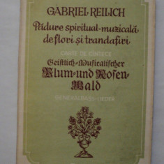 Padure spiritual muzicala de flori si trandafiri , Gabriel Reilich, Alta editura