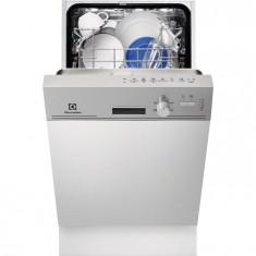 Masina de spalat vase partial incorporabila Electrolux ESI4500LOX, 9 seturi, 6 Programe, Clasa A+, 45 cm, Inox, Semi-incorporabil, Numar programe: 6, A+