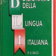 DIZIONARIO DELLA LINGUA ITALIANA - M. G. Bacci - Dictionar