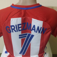 TRICOU GRIEZMANN ATLETICO MADRID MARIMI XS, S, M, L, XL - Tricou echipa fotbal, Marime: L, Culoare: Din imagine