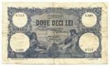 ROMANIA  20 LEI 25 MARTIE 1920 STARE VF++