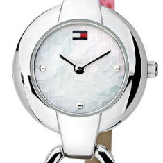 Tommy Hilfiger 1780386 ceas dama nou, 100% original. In stoc - Livrare rapida., Elegant, Quartz, Inox, Piele, Rezistent la apa
