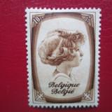 TIMBRE BELGIA 193-QUENN SERIE=MNH, An: 1935, Nestampilat