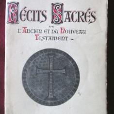 """""""RECITS SACRES de L'ANCIEN et du NOUVEAU TESTAMENT"""", Mario Meunier, 1942"""