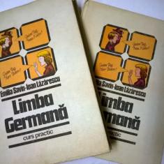 E. Savin, I. Lazarescu – Limba germana curs practic {2 volume} - Carte Literatura Germana