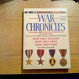 THE WAR CHRONICLES - Don Horan - New York, 1988, 264 p. - Istorie