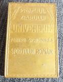 Medalia premiul ziarului Universul pentru sprijinirea sportului roman
