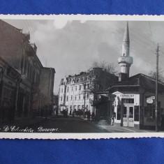 FOTOGRAFIE TIP CARTE POSTALA * BAZARGIC / STRADA REGINA ELISABETA - 1939