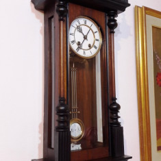 Ceas de perete cu pendula - Lenzkirch 1853