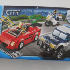 Lego City 60007 Police Urmarirea in mare viteza High Speed Chase Politie Hoti