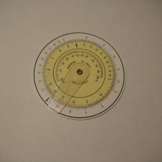 Rigla de calcul circulara Aristo 602 /vintage