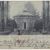 #1826- Romania, Orsova, carte postala circulata 1901: Capela Korona, Fotografie