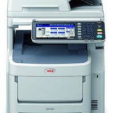 Multifunctionala OKI MC760dn, laser color, fax, A4, USB, alb-gri
