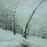 Nicolae Tempeanu (1883-1937) * Ulei pe carton - Pictor roman, Peisaje, Altul