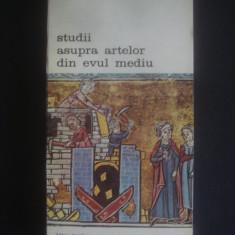 PROSPER MERIMEE - STUDII ASUPRA ARTELOR DIN EVUL MEDIU {BIBLIOTECA DE ARTA}