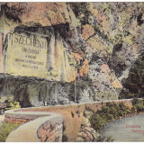 #1828- Romania, Orsova, c.p. necirculata 1912: Placa comemorativa Szechenyi, Fotografie