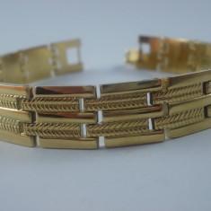 Bratara Barbati inox placata aur 18k cod 1610BB003 - Bratara placate cu aur