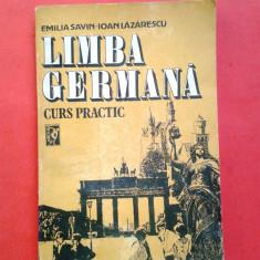 LIMBA GERMANA CURS PRACTIC Emilia Savin Ioan Lazarescu volumul 2 an 1992 - Curs Limba Germana