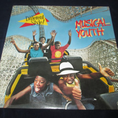 Musical Youth ‎– Different Style! _ vinyl(LP,album) SUA, VINIL