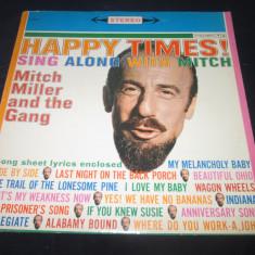 Mitch Miller And The Gang – Happy Times! _ vinyl(LP) SUA - Muzica Jazz Columbia, VINIL