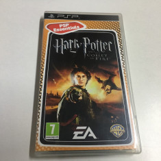 JOC PSP HARRY POTTER AND THE GOBLET OF FIRE - PSP ( ORIGINAL ) - Jocuri PSP Electronic Arts, Actiune, 12+, Single player