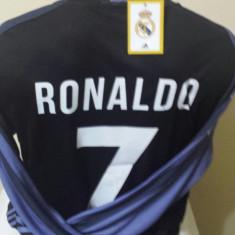 BLUZA CU MANECA LUNGA RONALDO REAL MADRID MARIMI S, M, L, XL - Tricou echipa fotbal, Marime: L, M, S, Culoare: Din imagine