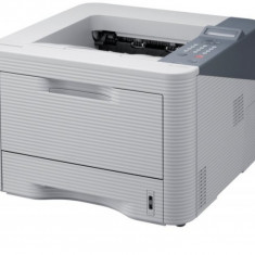 Imprimanta SAMSUNG ML-3750DN, 37 PPM, USB 2.0, RJ-45, 1200 x 1200 DPI, Monocrom, A4 - Imprimanta laser alb negru Samsung, 35-39 ppm
