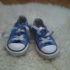 Tenesi Converse marimea 20 - Tenisi copii Converse, Culoare: Albastru