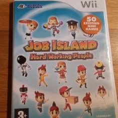 Wii Job island Hard working people - joc original PAL by WADDER - Jocuri WII Altele, Actiune, 3+, Multiplayer