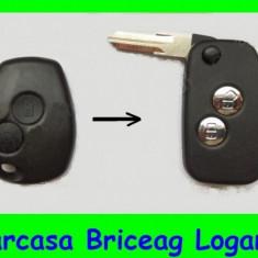 Carcasa Briceag Logan, Duster, SandeRo - Carcasa cheie