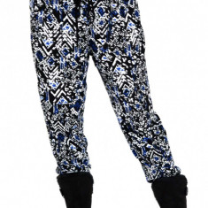 Pantaloni dama tip salvari model etnic, Marime: XS