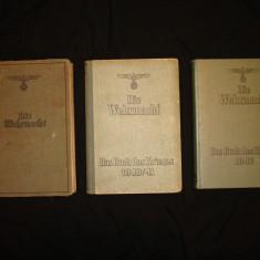 Carti militare germane DIE WEHRMACHT al 3-lea Reich WW2/colectie/razboi/istorie
