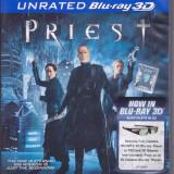 Film Blu Ray 3D: Priest ( original - subtitrare in lb.romana ) - Film actiune