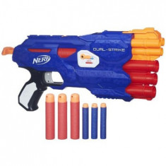 Blaster Nerf N-Strike Dual-Strike - Pistol de jucarie Hasbro