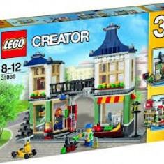 Lego Creator 31036 Toy & Grocery Shop Construieste Magazin de jucarii si bacanie